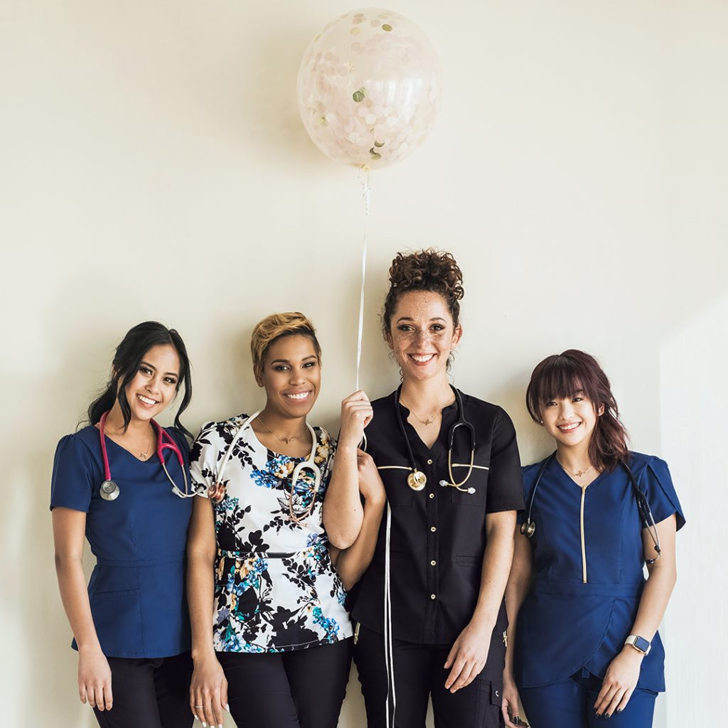 Scrubs, Medical Apparel, Jaanuu Brand Ambassadors
