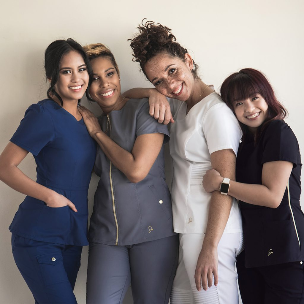 Jaanuu Ambassadors, Contemporary Scrubs, Nurses