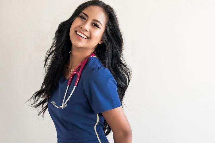 Jaanuu Brand Ambassador, Contemporary Medical Scrubs