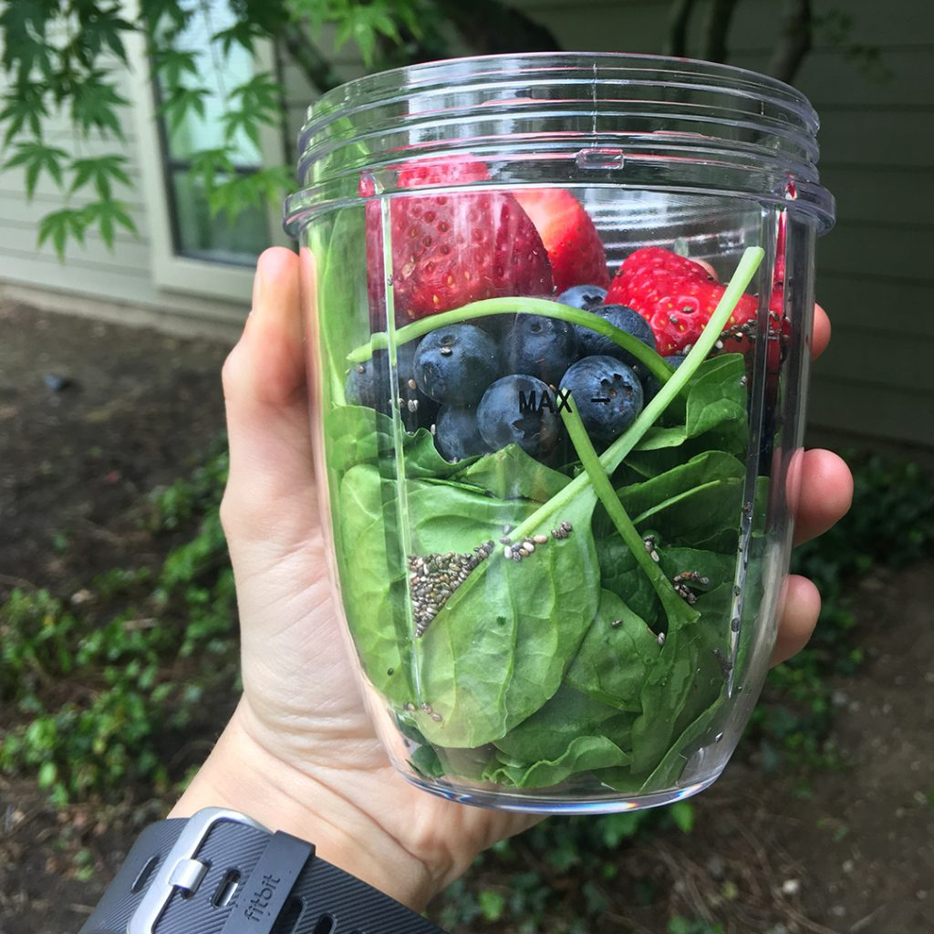 Michaela Bogert, Staying Healthy as a Nursing Student, Green Smoothie Recipe
